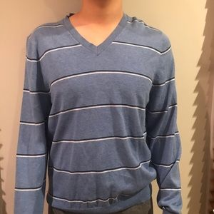 NWOT Brooks Brothers stripes cotton  sweatshirt